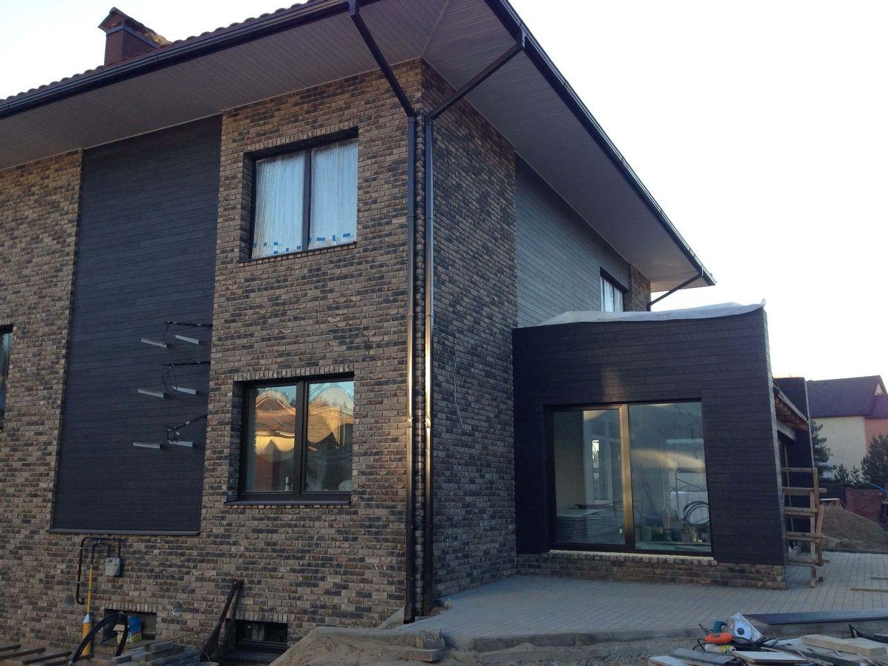 там, фото домов с отделкой вентилируемого фасада камнем собак если