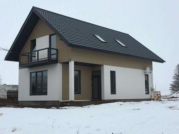 Минский район, каркасный дом, 14 мм панели