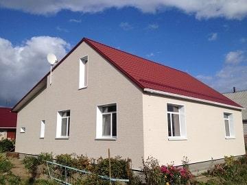 Частный дом, Минский район, японские фасадные панели Нитиха V серии